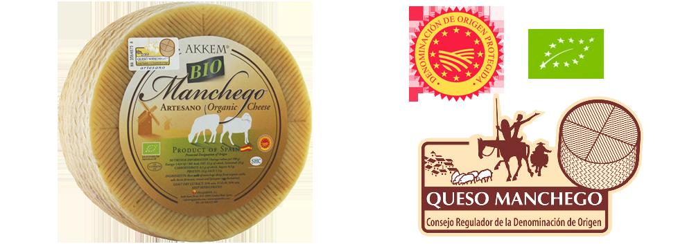 AKKEM Bio-Manchego-Käse (D.O.P.)